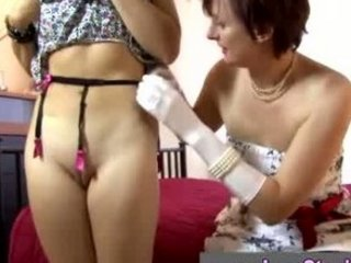brunette and grown-up lady eat every others pussys