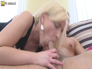 nasty goldenhaired mother id like to pierce sucks