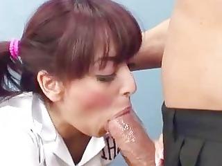 babe serves a mature libido