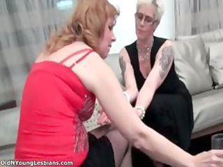 busty elderly pale homosexual woman belle part2