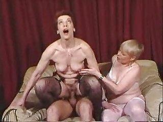 two grannies like fresh meat