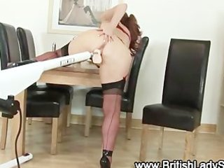 cougar brit in nylons obtains off