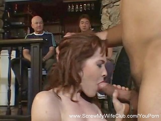 rufous babe takes screwed, ok with hubby!