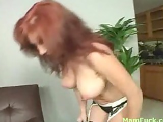 hot rufous milf demonstrates arse daughter how to