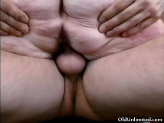 horny older woman with large boobs fucking part6