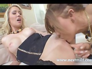 busty ladies own down for some homosexual woman