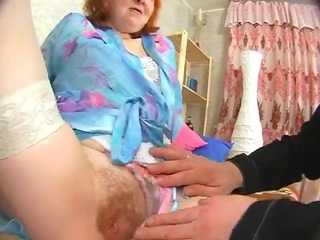 russian elderly acquires her ahole tasted