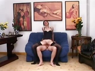 euro older inside gorgeous lingere has ass sex