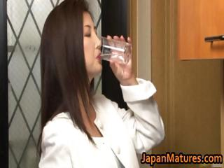 chisa kirishima mature asian babe shows part6