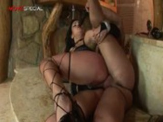 surprising gangbanged vagina cougar lady tasting