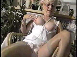 breakfast with mature inside girdle
