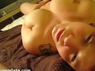 naughty wife pleases and acquires facialized