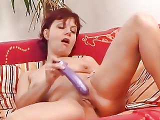 lonely shaved cougar labium