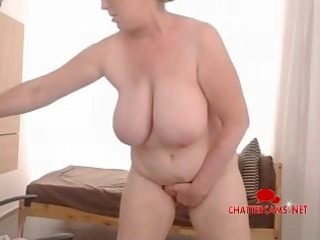 huge boobs woman cave enjoy