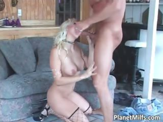 blond naughty woman getting gang-banged hardly