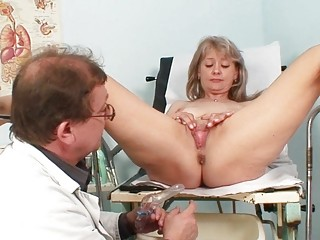 hot blond lady acquires her pussy abused in the