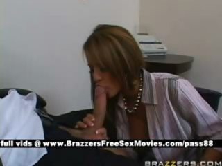 older redhaired whore at job obtains a blowjob