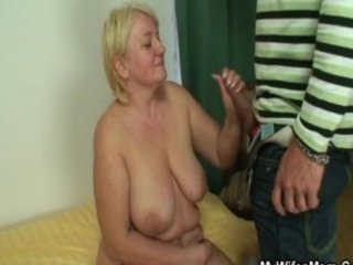 he bangs his cougar mother-in-law