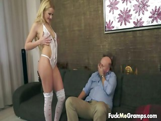 brooke albino hottie for grandpa