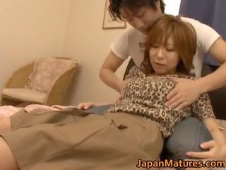 desperate japanese grown-up chicks tasting