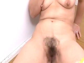 aged japanese mother craves sons friend cock