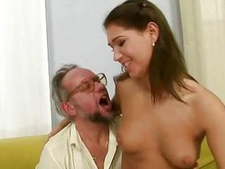 grandpa pleasing dirty pierce with super amateur