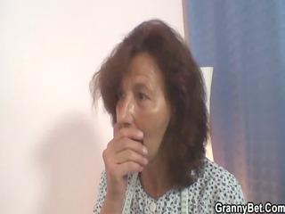 he gang-bangs elderly seamstress from behind