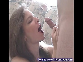 sperm swallowing belle lorsha
