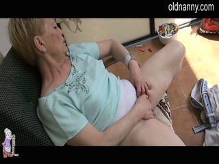 old elderly masturbation with huge brown penis