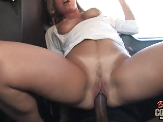 white mom joey lynn used by ain her ebony son on