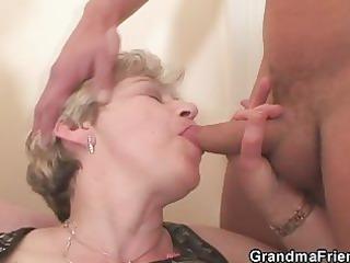 mature threesome action
