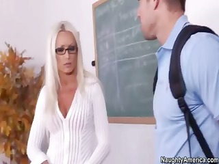 pale lady teacher, diana doll, gets her cave