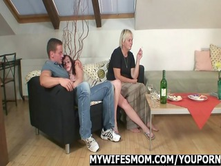 mother in law seduces her daughters man