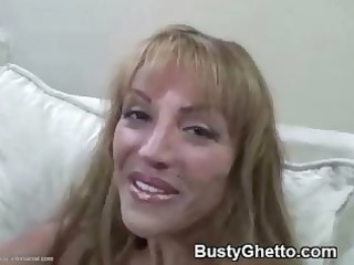 yummy mature lady tasting afro dick