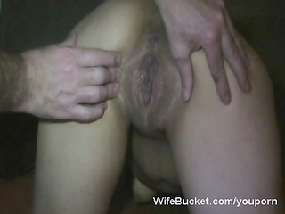 desperate wife obtains a huge cumshots