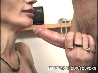 voyeur mature babe drilling