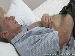 grandaddy jerks off