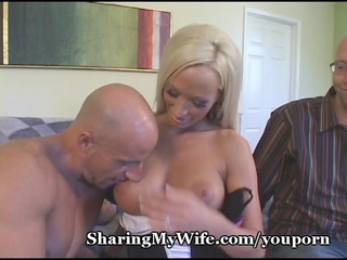 hubby cant enjoy wife, gets someone who can