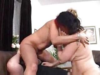 chick and her woman slurp on hubbys bear libido