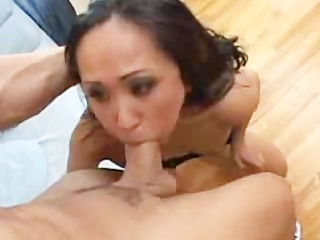 asian woman banging her sons ideal lover