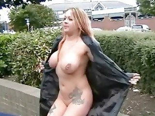 slutty girl ginas outside nudity and english