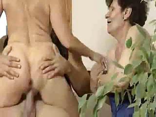 anal granny triple