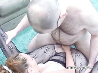 red-haired chick navaya acquiring drilled