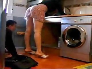 grown-up seducting plumber