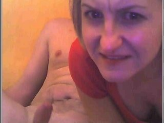woman gags during deepthroating