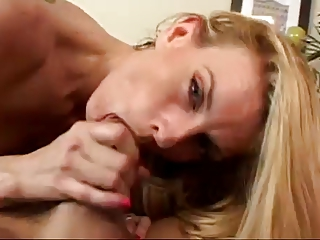 awesome albino mature babe darryl hanah smoking bj