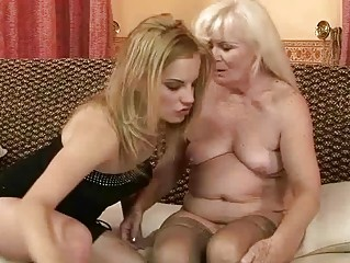 ugly elderly playing lesbian porn with awesome