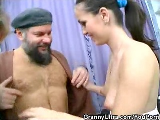 two penis tasting old honeys
