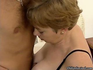 filthy mature bitch goes slutty tasting part4