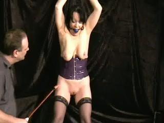 brutal beat of older slavegirl